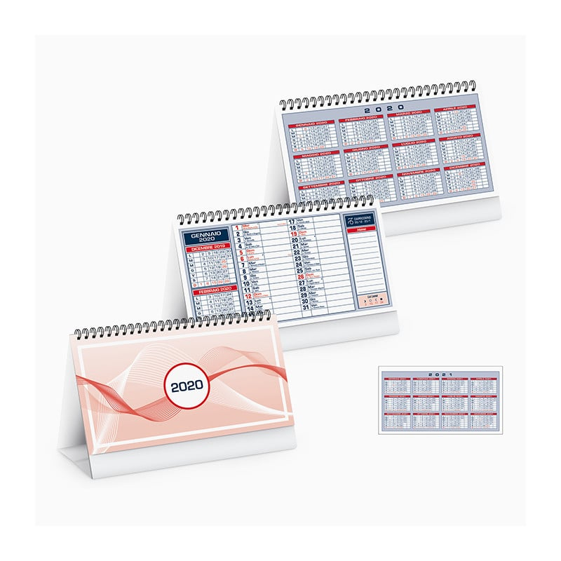 PA710RO calendari piedino adesivo porsonalizzato table notes