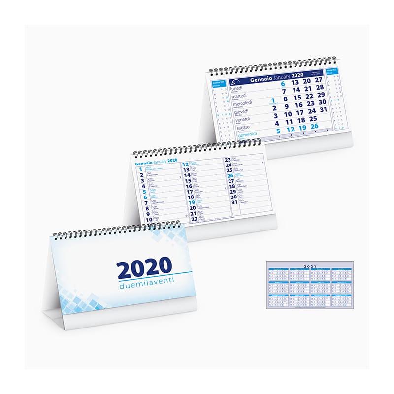 Pa715BL calendari da tavolo spiralati chart table
