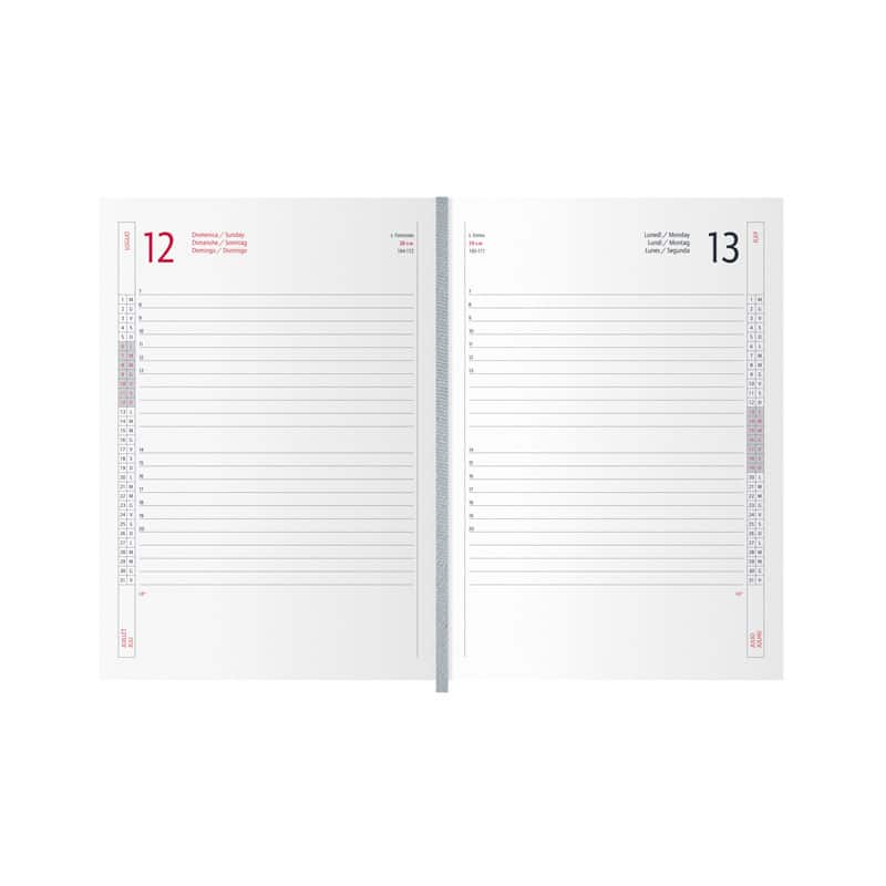 agenda borsello PB230X interno