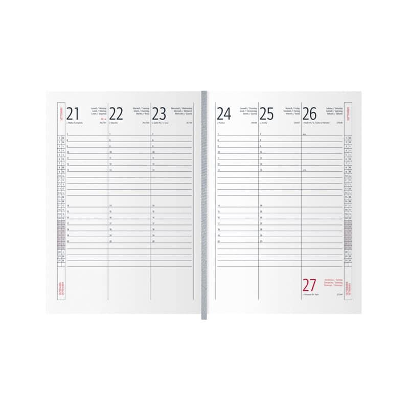 agenda portafoglio PB181S interno
