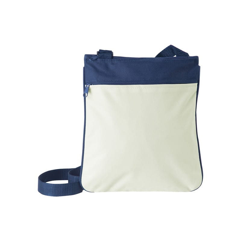 Baggy tracolla regolabile bicolore nylon 600d personalizzati - pg370