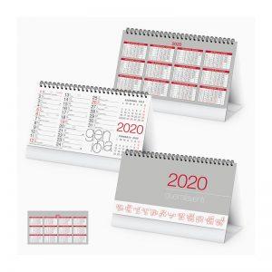 calendario da tavolo multicolor PA720