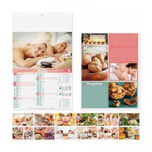 calendario illustrato bellezza benessere PA098