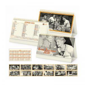 calendario illustrato da tavolo come eravamo PA065