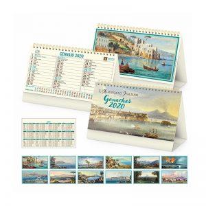 calendario illustrato da tavolo gouches PA066