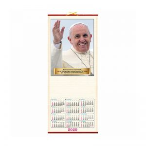 calendario illustrato francesco PA385