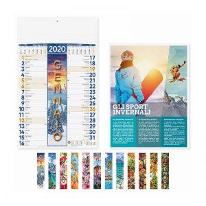 calendario illustrato olandese 4 stagioni PA115