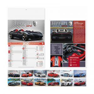calendario illustrato olandese auto sportive PA162