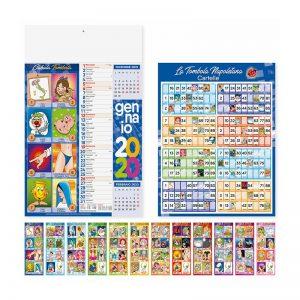 calendario illustrato olandese cabala PA114