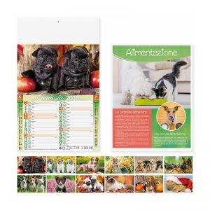 calendario illustrato olandese cani e gatti PA108
