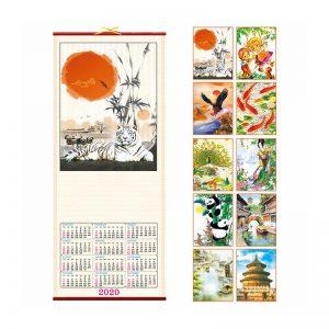 calendario in canna bambu PA370