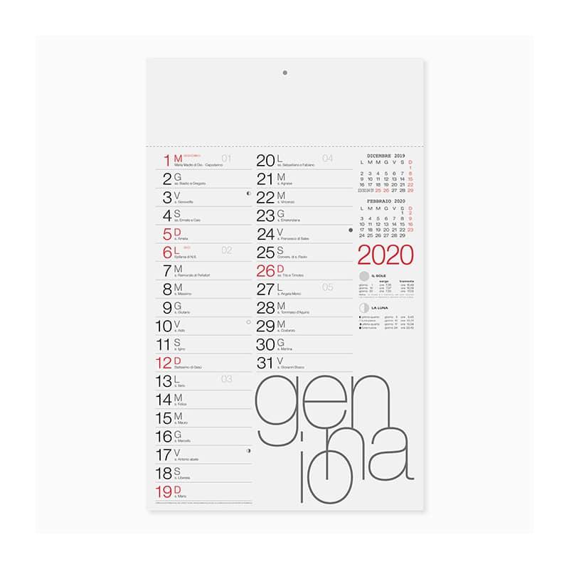 calendario olandese PA615