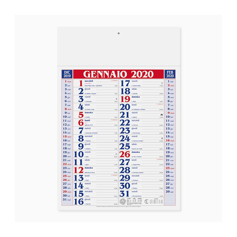 calendario olandese PA650RO