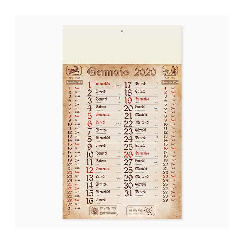 calendario olandese anticato Pa619