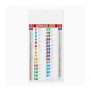 calendario olandese color shaded Pa658