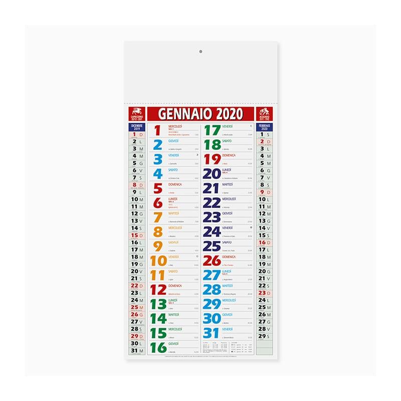 calendario olandese color shaded Pa658