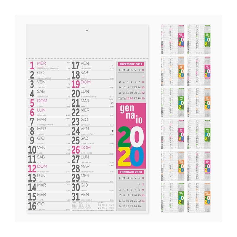 calendario olandese fluo PA503