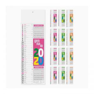 calendario olandese slim fluo pa502