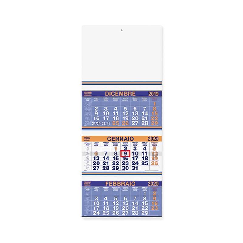calendario trittico fluo PA500AR