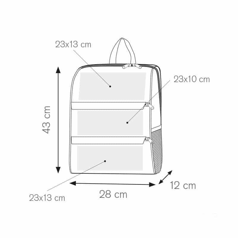 I-bag zaino nylon 600d personalizzati - pg298 specifiche