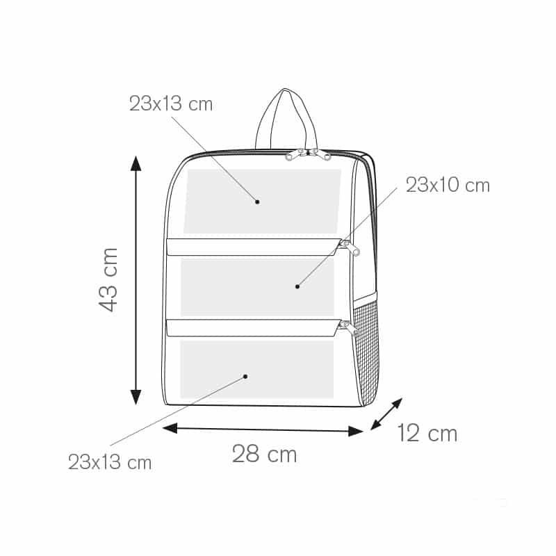 I-bag zaino nylon 600d personalizzati - pg298 specifiche