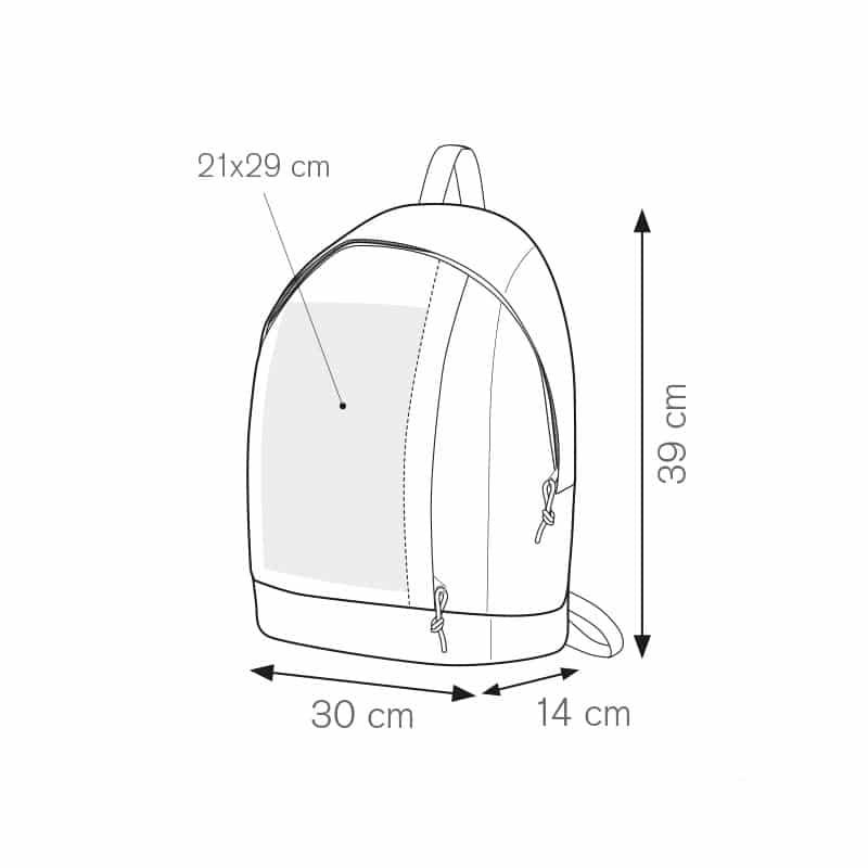 Los angeles zaino nylon 600d personalizzati - pg312 specifiche