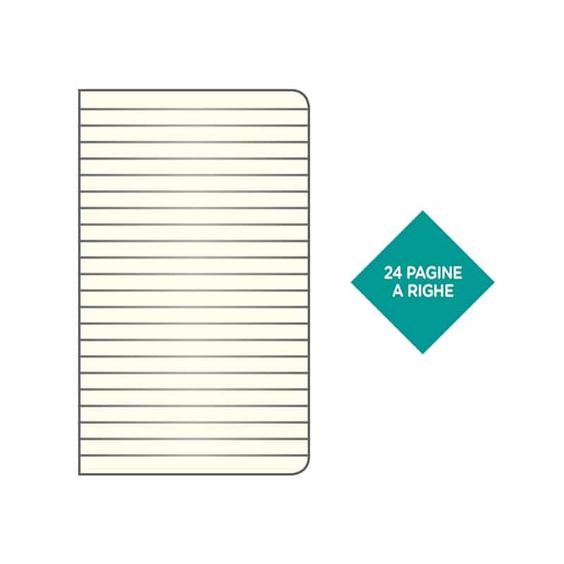 parure agenda notes e penna personalizzati gadgets pb572bl interno