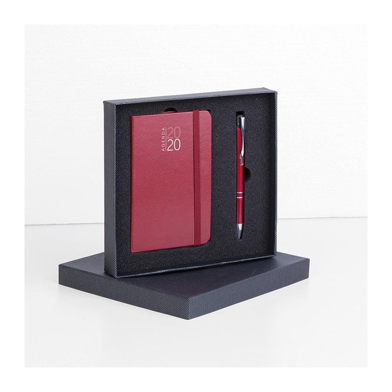 parure agenda notes e penna personalizzati gadgets pb572bo