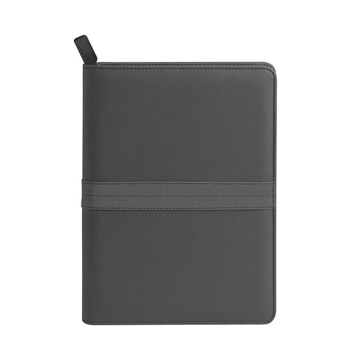 Agenda borsello chiusura con cerniera personalizzati - pb026