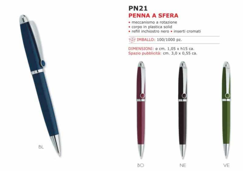 penne personalizzate gadgets PN02BL