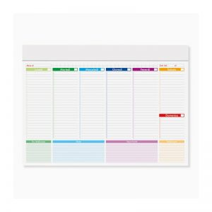planning multicolor personalizzato PB802
