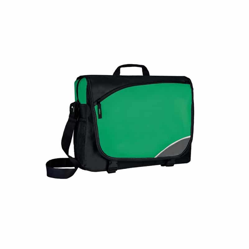 Quota borsa bicolore portadocumenti nylon 600d personalizzati - ph224