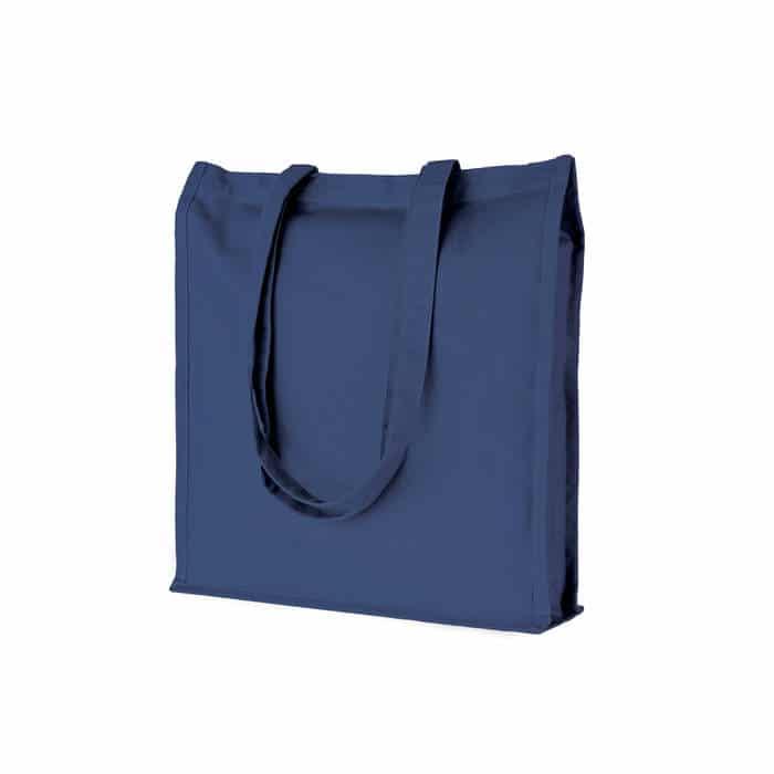 shopper cotone borse promozionali menfi PG203BL