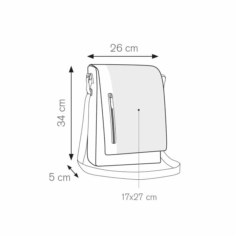 Should tracolla portadocumenti nylon 600d personalizzati - pg366 specifiche