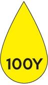 Colore stampa giallo 100