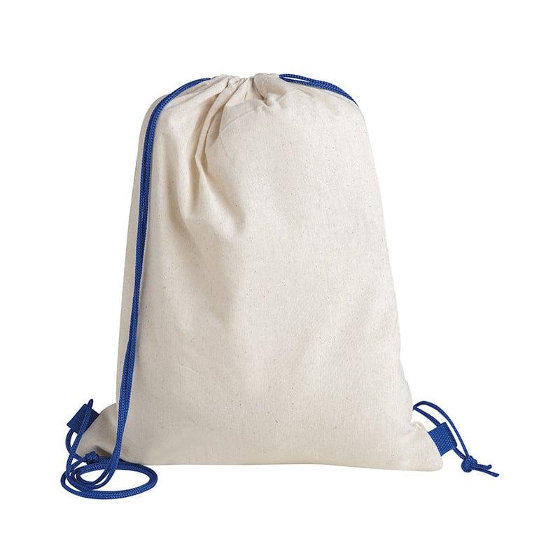 zaino sacca cotone dominique PG277BL