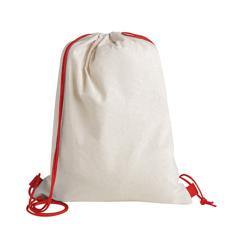 zaino sacca cotone dominique PG277RO