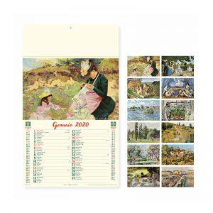 calendario anticato artistico PA032