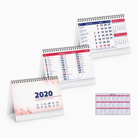 Calendario 16 x 14