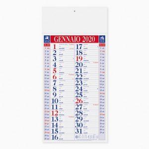 Calendario 23 x 47 cm Olandese Shaded personalizzatocon il tuo logo - PA613