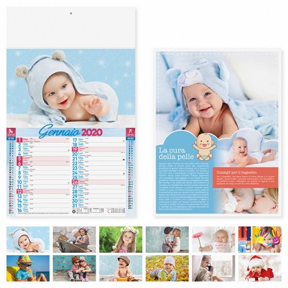 """Calendario 29 x 47 cm Illustrato """"BAMBINI"""" personalizzato con il tuo logo - PA095"""