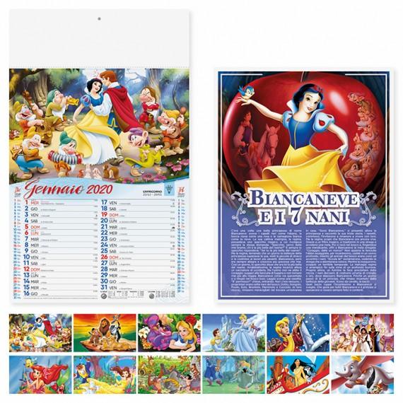 """Calendario 29 x 47 cm Illustrato """" FAVOLE"""" personalizzato con il tuo logo - PA105"""
