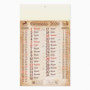Calendario 29 x 47 cm Olandese Antico personalizzatocon il tuo logo - PA619