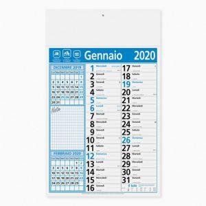 Calendario 29 x 47 cm Olandese MIX personalizzatocon il tuo logo - PA635