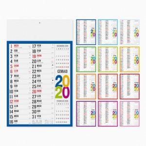 Calendario 29 x 47 cm Olandese Swedish personalizzatocon il tuo logo - PA614