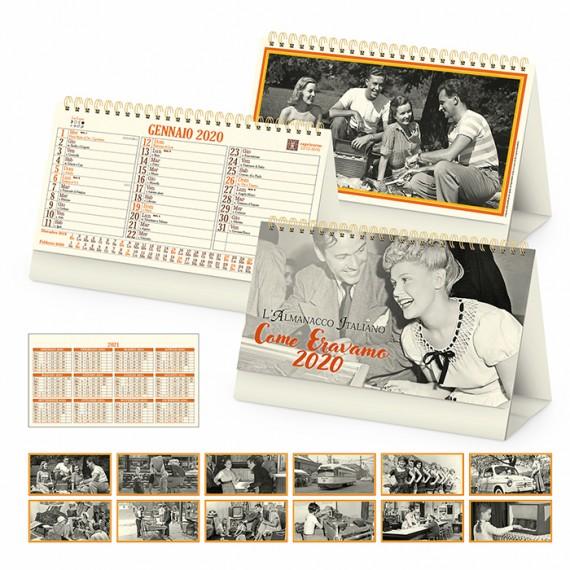 "Calendario Vintage ""COME ERAVAMO"" 19 x 14"