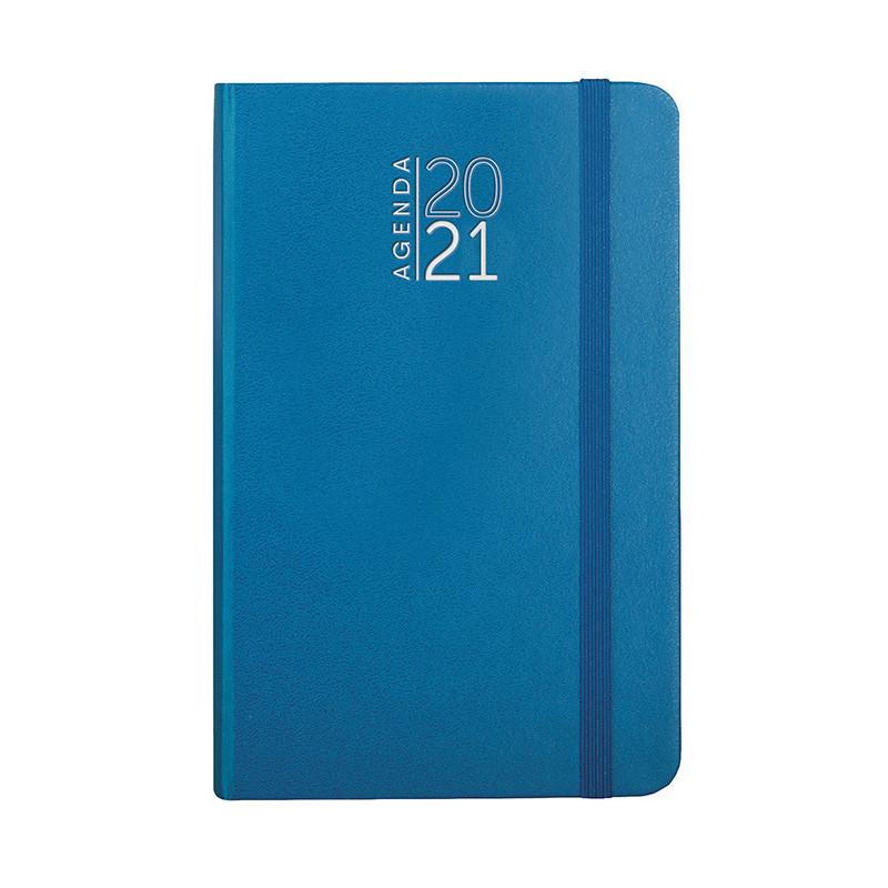 PB546 - 192 pag. : 128 pag. (agenda settimanale) F.to cm 9x14 ca (chiuso) Azzurro PB546AZ