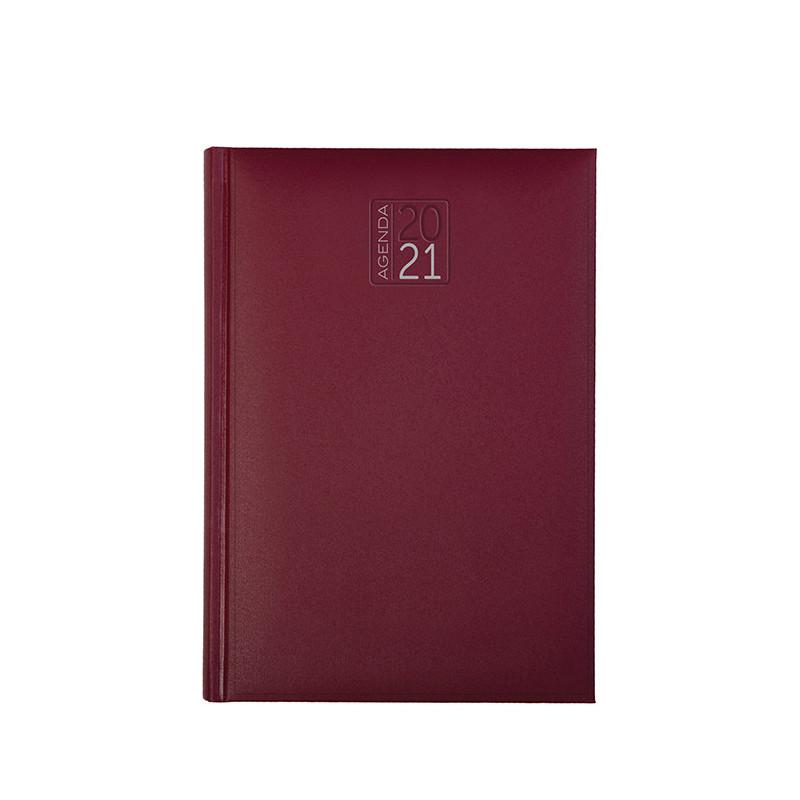 PB560 - Agenda bi - giornaliera 240 pagine F.to cm 7x10 ca (chiuso) Bordeaux PB560BO