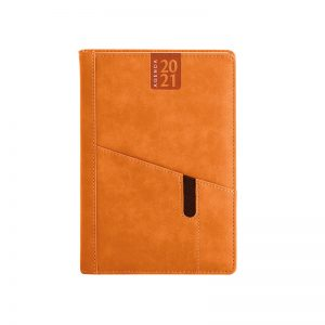 PB265 - Agenda giornaliera 324 pagine s/d/a F.to cm 15x21 ca (chiuso) Arancio PB265AR