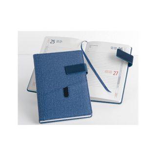 PB261 - Agenda giornaliera 324 pagine s/d/a F.to cm 15x21 ca (chiuso) Blu PB261BL